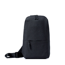 Buy Original Xiaomi Backpack urban leisure chest pack Men Women Small Size Shoulder Type Unisex Rucksack camera DVD phones for $18.99 in AliExpress store