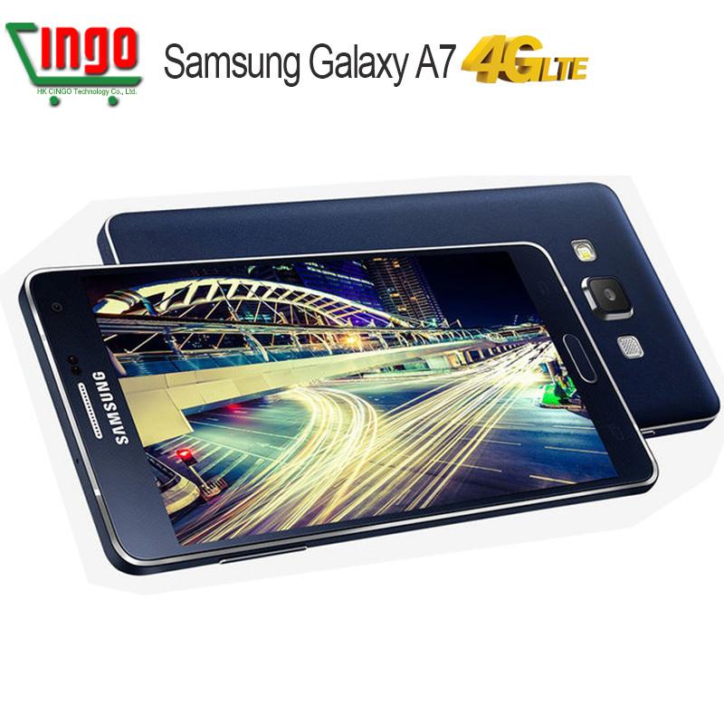 2015 New Samsung Dual 4G Samsung Galaxy A7 Smart Phone A7000 OctaCore 2G RAM 16G ROM 13MP Camera 5.5'' Best Quality Mobile phone(China (Mainland))