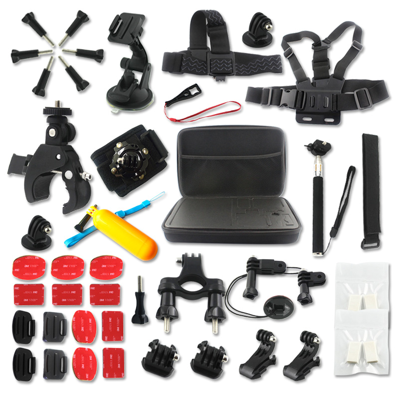 Action Sports Camera  Accessories Set for  SOOCOO S70/60B/60  SJCAM SJ4000 Gopro Hero 4 xiaomi yi