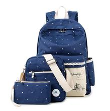 Korean casual women book bags