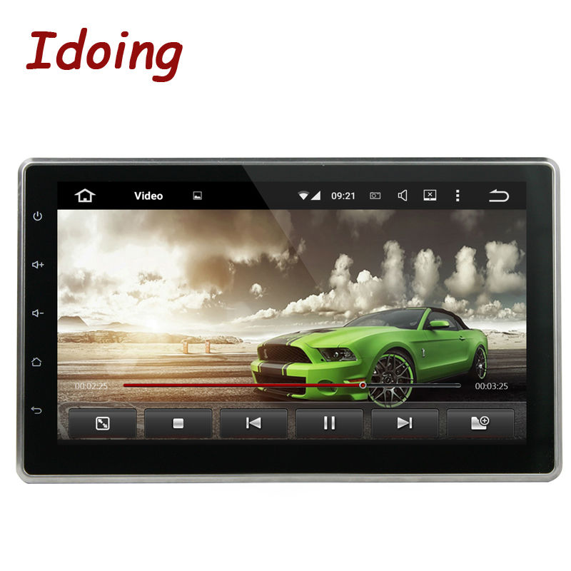 Car DVD Android 5.1 Universal 10.1 Inch Car Multimedia Player 2 Din Quad Core Headrest Radio DVD Touch Screen Steering Wheel(China (Mainland))
