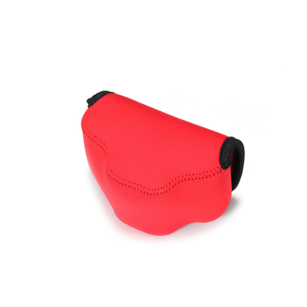 Red Portable Neoprene Camera Bag For Fujifilm X30 Case with Logo Camera Accessories Mini Bags Plastic Buckle Free Shipping(China (Mainland))