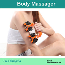 Arm massage device skin roller for slimming body massager anti cellulite losing weight health care beauty relax slimming product