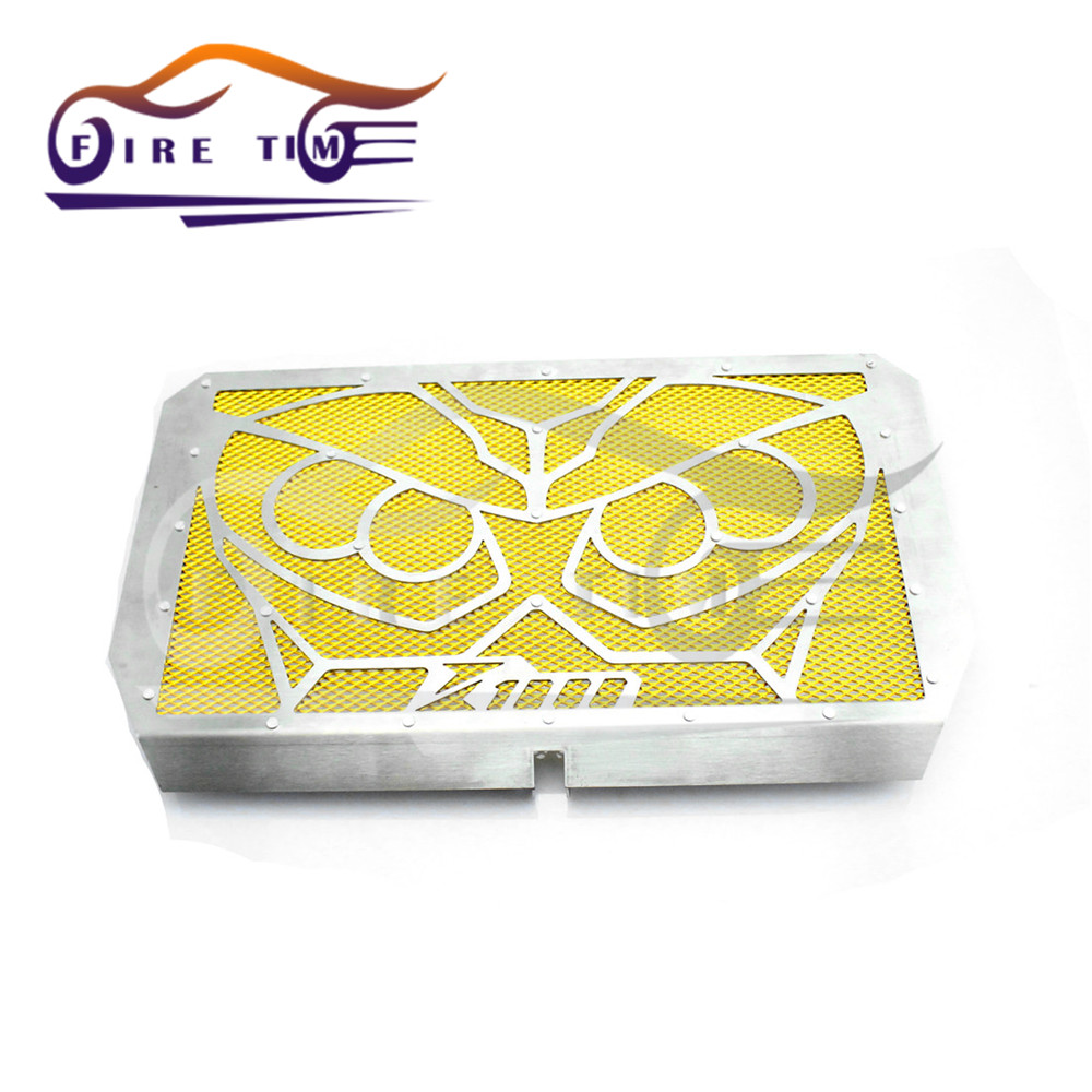 Motorcycle Stainless Steel Radiator Guard Protector Grille Grill Cover gold For Kawasaki Z1000 Z800 Z750<br><br>Aliexpress