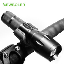 Buy NEWBOLER Bicycle Light 3000 Lumens 5 Mode XM-L T6 LED Bike Light Front Torch Waterproof + Torch Holder Support 18650 Battery for $6.98 in AliExpress store