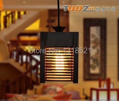 European style bedside antique wood wall lamp single-head living room lights vintage fashion bar lamps