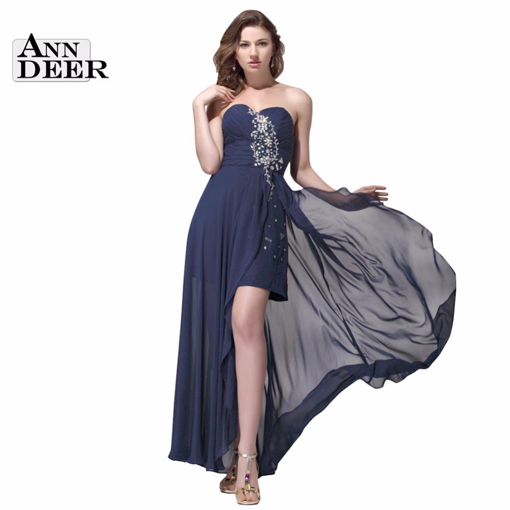 w3443 high low plus size sweetheart chiffon prom dresses