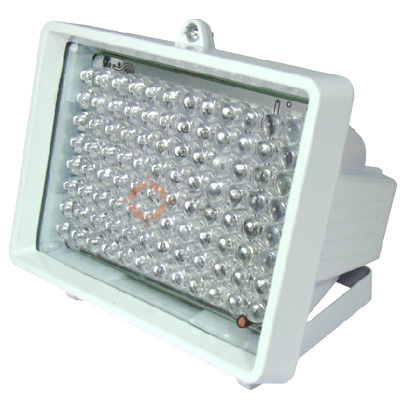 Customized WaterProof LED IR(InfraRed) Illuminator (96pcs 10mm diameter LED) for Security CCTV lighting (30~85m Working Range)(China (Mainland))