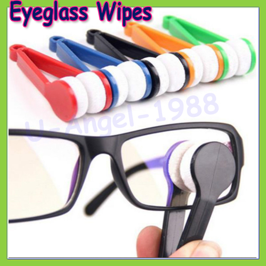 1pcs Mini Microfibre Glasses Cleaner Microfibre Spectacles Sunglasses Eyeglass Cleaner Clean Wipe Tools Dropship
