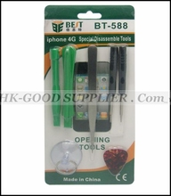 HK post For iphone 5 Repair Opening Tool Kit With 5 Point Star Pentalobe Torx Screwdriver For iPhone 4 4G 4816 free shipping