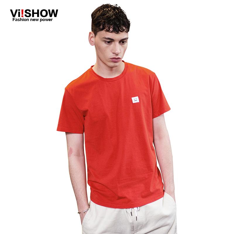Viishow de manga curta roupas de alta qualidade dos homens de manga curta camiseta hip hop roupas(China (Mainland))