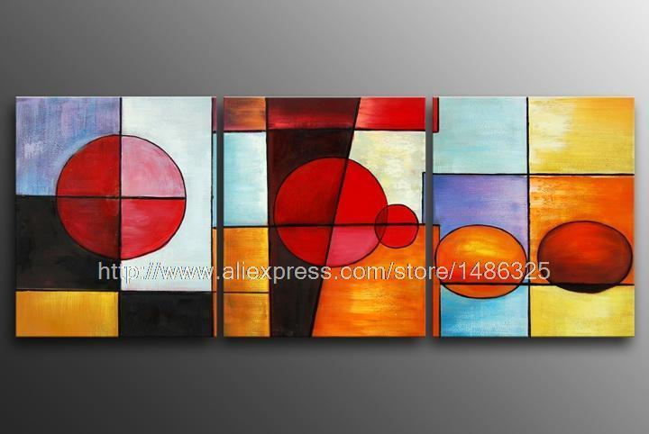 Huge modern oil painting decor abstract art gallery on for Canvas roll for painting