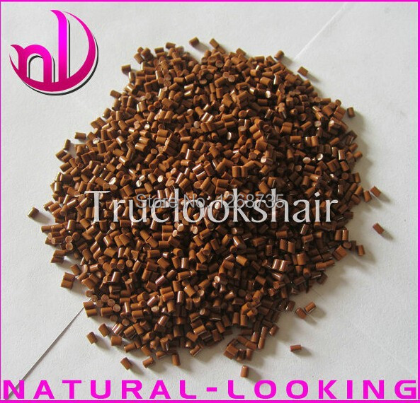 30g/lot Brown Color True Italian Keratin Glue Granules/Beads/Grain Top Quality Strong Adhesion Fusion Glue Keratin Free shipping