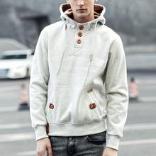 5 couleurs marque automne hiver hommes Hoodies de sport à capuche hommes Casual coton épais manteaux à capuchon WW0039 asiatique / Tag taille m - 3xl(China (Mainland))
