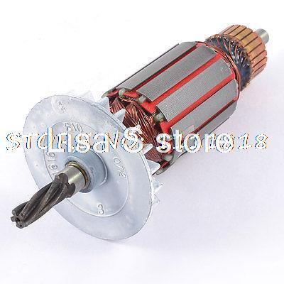 ac 220v electric motor rotor 5 teeth drive shaft for bosch