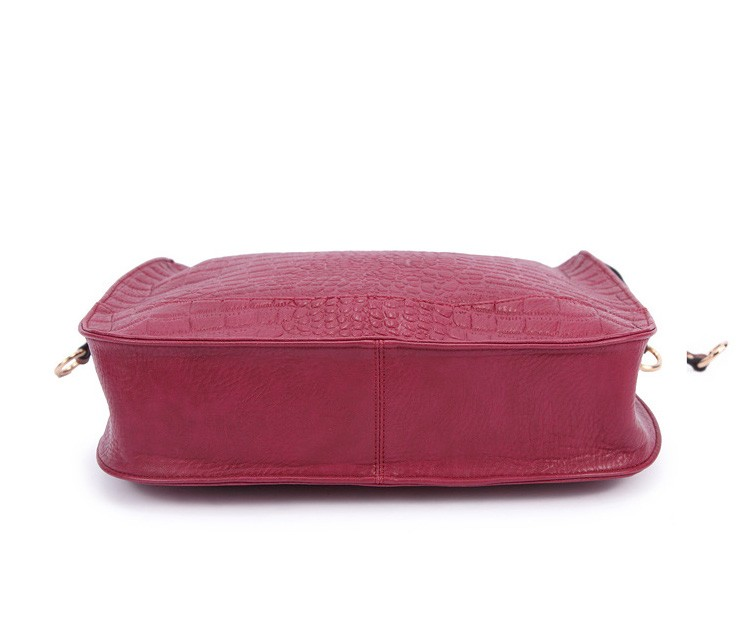 New  women bag high quality elegant composite PU leather handbag fashion  women messenger bags 2015 shoulder bag bolsos BH846 (4)