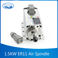 New 1 5kw spindle motor air cooled motor cnc spindle motor machine tool spindle