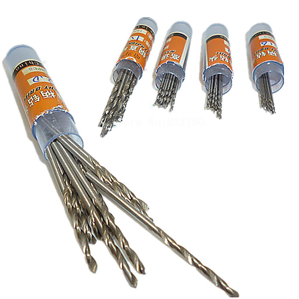 4mm diamond twist drill bit - 50pcs Set Twist Drill Bit Set Saw Set Hss High Speed Steel Drill Bit Woodworking