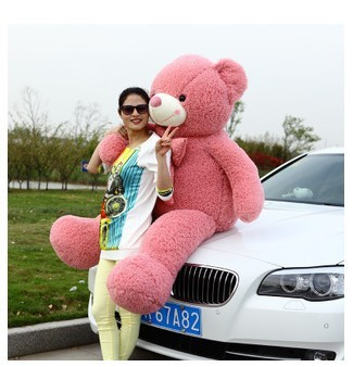 Free shipping 120cm big size high quality teddy bear plush toy 4color to choose(China (Mainland))