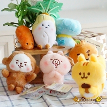 4Inch Kanahei Plush Toys Funny Carrot Plant Animal Plush Stuffed Dolls Kids Gifts Keychain Bags Decoration Free Shipping