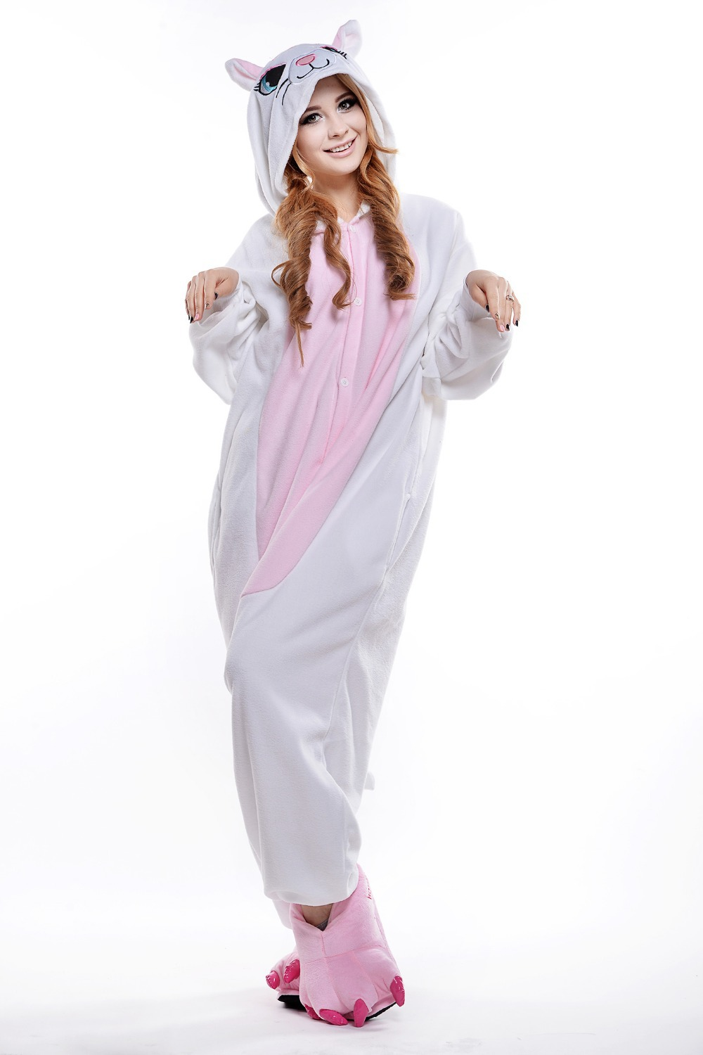Adult Sized Footed Pajamas