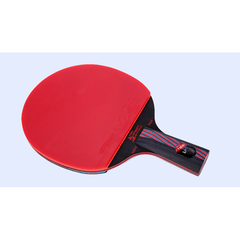 Best quality racket to table tennis racket pingpong hybrid wood handle grip long short holder straight grip professional paddle(China (Mainland))