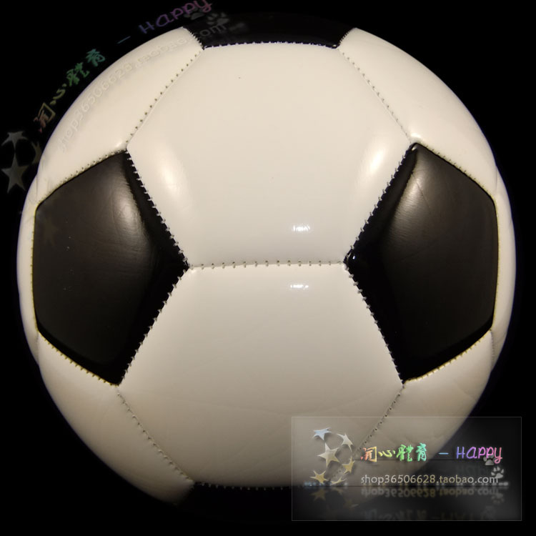 High quality Size5 TPU soccer ball, football, official size and weight black and white(China (Mainland))