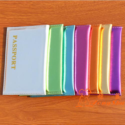 Patent Leather Shiny Unisex Passport Wallet  Waterproof Travel Passport Holder PU Passport Cover Bag ID Credit Card Holder PC-18<br><br>Aliexpress