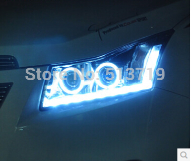 LED HID headlights,xenon headlamps HID Hernia lamp auto car products angel eyes for Chevrolet Cruze 2009-2014(China (Mainland))