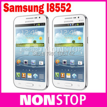 Unlocked Original Samsung Galaxy Win i8552 Dual SIM Quad core 3G GPS WIFI 4GB Storage Android Mobile Phone Refurbished(China (Mainland))