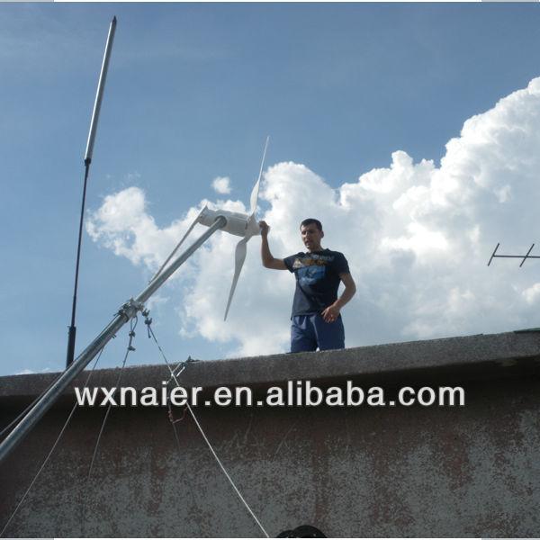 1KW ac 48v wind turbine for home use(China (Mainland))