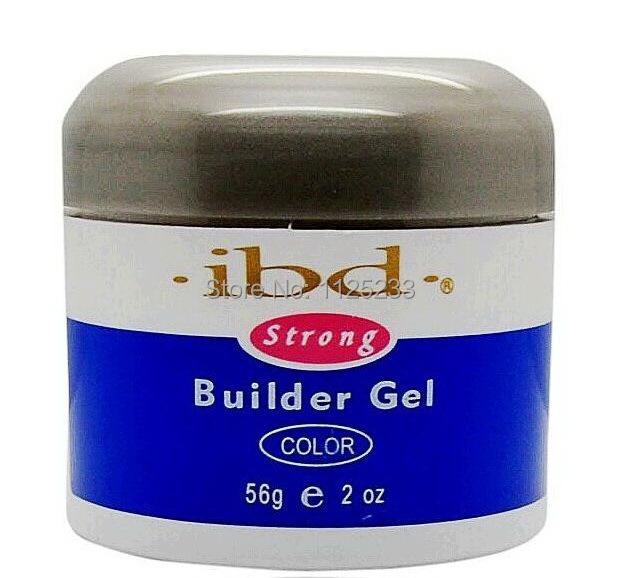 Nail IBD Gel UV Builder Nail Art Pink Clear White Beauty Salon 2oz / 56g Strong false tips extension polish Long Nail Hard Gel(China (Mainland))