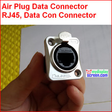 Из светодиодов дисплей воздушными пробками, RJ45 кабельная арматура, IP44 дизайн, женский, кабель для передачи данных cat5 разъемы, данных con дизайн для из светодиодов экран