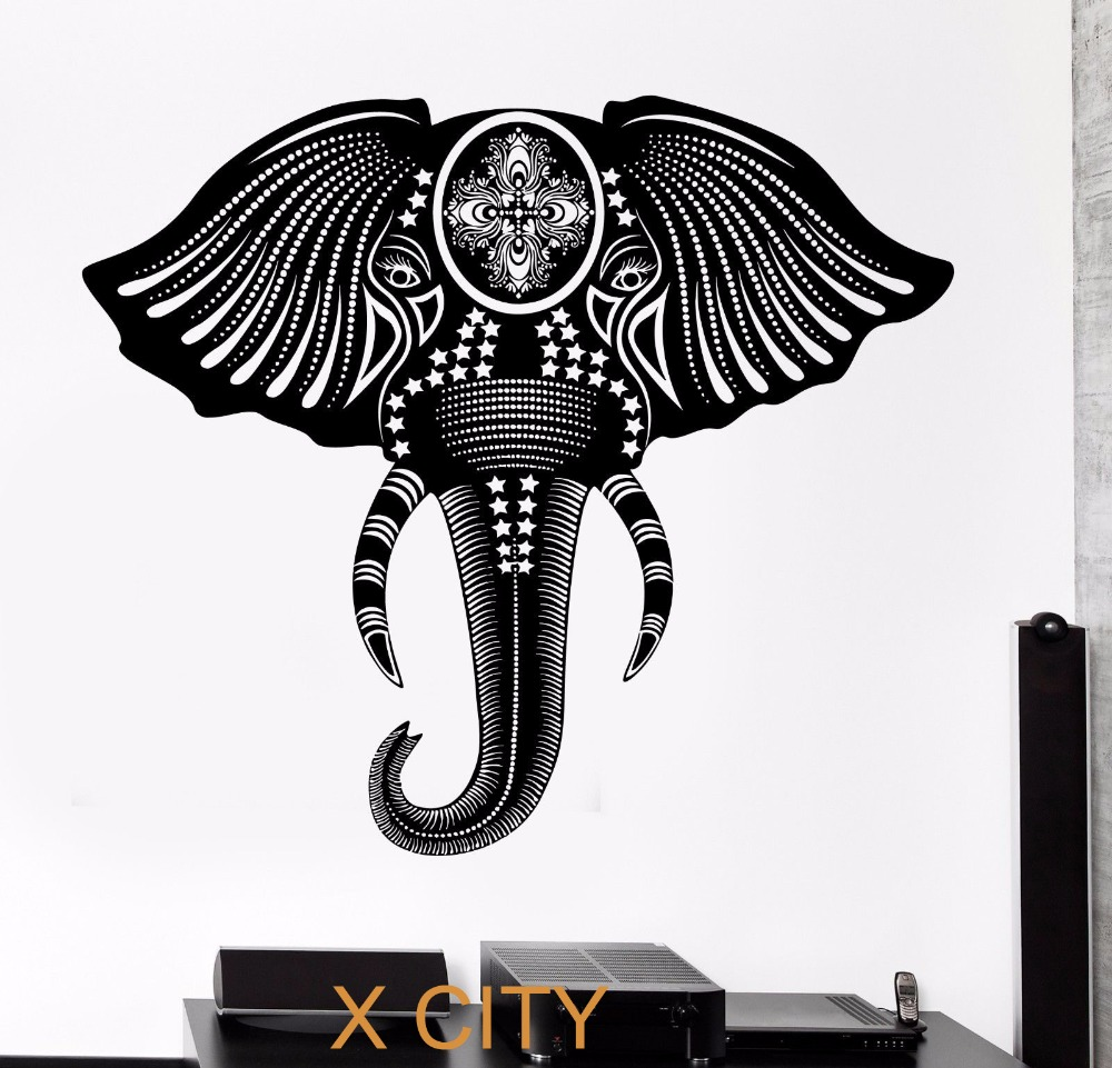 Raamdecoratie Keuken Vet : Cool Wall Decals Elephant