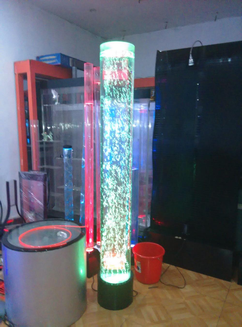 Compra l mpara de la columna de agua online al por mayor for Acquario a colonna