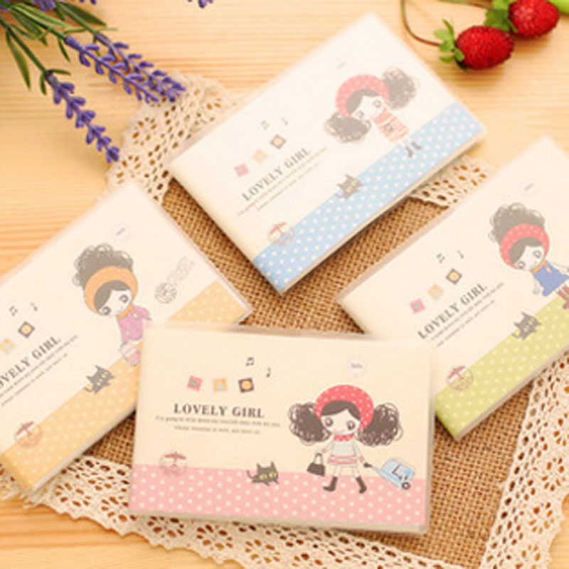 Mini PVC Hardcover Notebook  Creative Cute Pula Girl Portable Notepad Office Supplies Stationery<br><br>Aliexpress