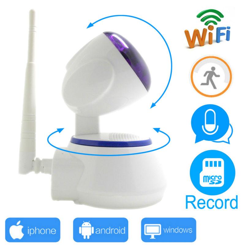 ip camera wi-wifi 720p cctv security mini system wifi home wireless micro sd card ipcam infrared surveillance ptz cam HD JIENU(China (Mainland))