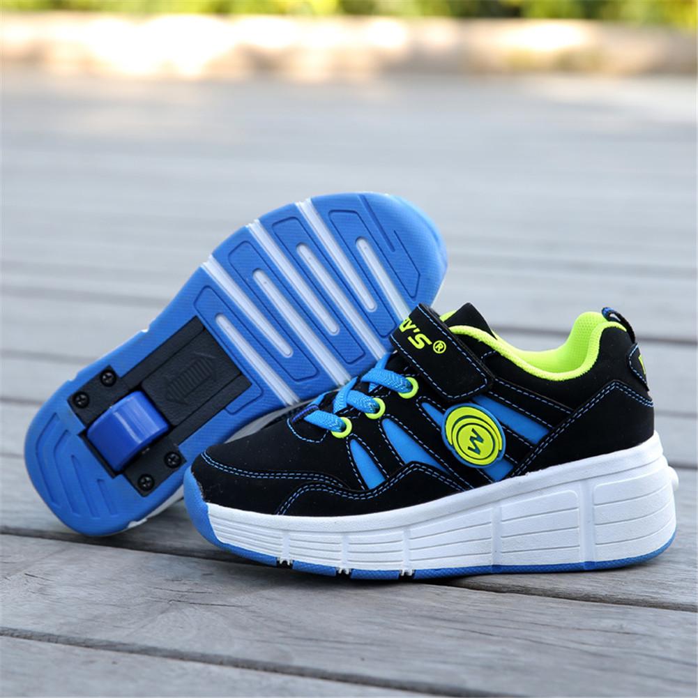 Roller shoes canada - Size 27 37 Brand Boys Girls Children Roller Shoes Kid Sneakers Boy Girls Outdoor Sport