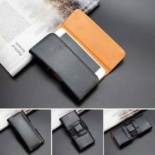 Mobile Phone Cases For iPhone 6 6S Plus 5 5S 4 4S Horizontal Belt Clip Holster PU Leather Pouch Case free shipping