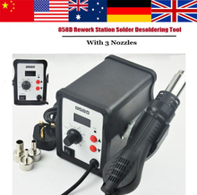 2015 marke NEUE Heiße 858D 220 V luftpistole lötstation eisen tool solder schweißen 700 Watt ESD Örtliche schnelles verschiffen(China (Mainland))