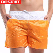 Men Beach Shorts Brand DESMIIT Sexy Mens Boxer Shorts Casual Trunks Quick Dry Thin Men Sport