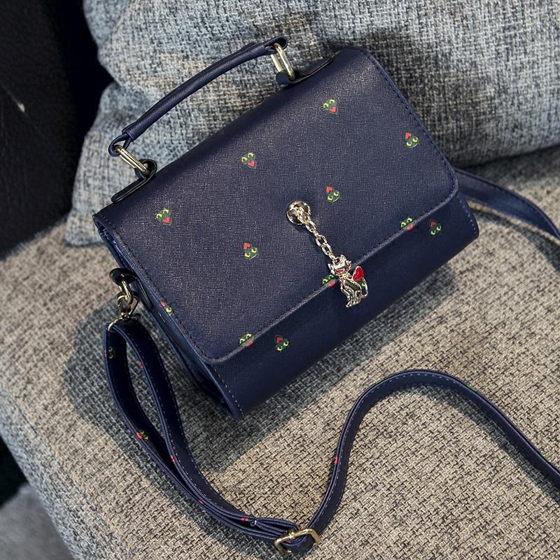 2015 autumn new shoulder cross small bag Crossbody Bag Lady Korean Fashion Square<br><br>Aliexpress