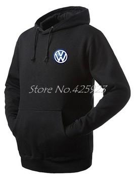 Vehicle logo Volkswagen 4S shop owners work clothing VW jacket coat team winter sweatshirt(China (Mainland))