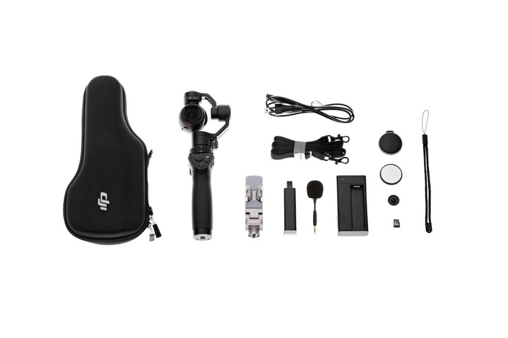 Original DJI OSMO Handheld 4K Camera and Stabilizer Gimbal Original 3-Axis Gimbal Free Shipping Via EMS