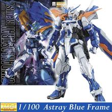 Daban Model MG Gundam Astray Blue Frame Second Revise1/100 MBF-P03R Kits Assembled Hobby Action Figures robots plastic fans toys