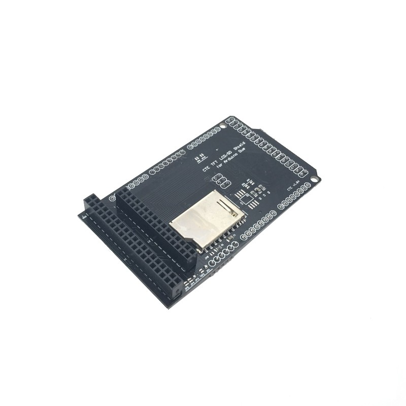TFT/SD Shield for Arduino DUE TFT LCD Module SD Card Adapter 2.8 3.2 inch Mega(China (Mainland))