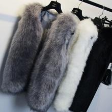 New 2015  Winter Coat Women Import Whole Peel  Fur Vest High-Grade Cappa Fur Coat Leisure Shitsuke Women Coat Size:XXS-7XL(China (Mainland))