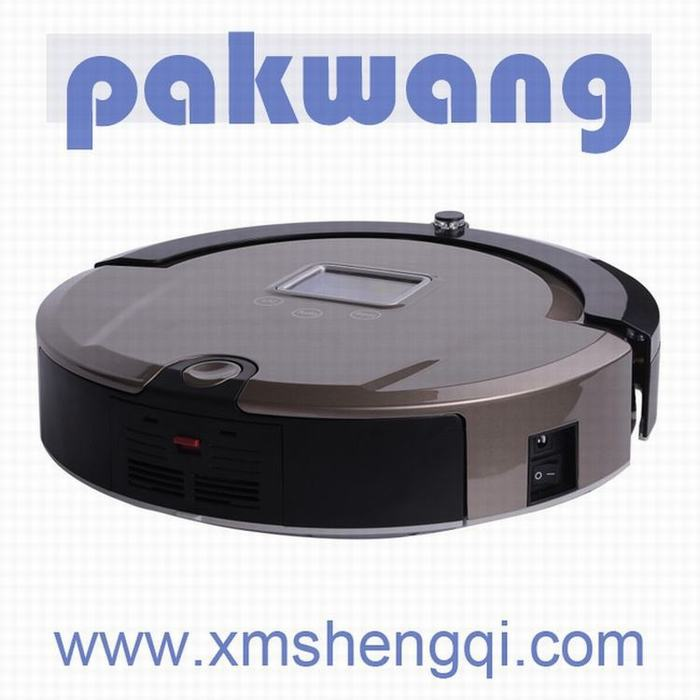 Multifunction Robot Vacuum Cleaner (Auto Clean,Sterilize,),LCD Screen, Kirby Vacuum Cleaner(China (Mainland))