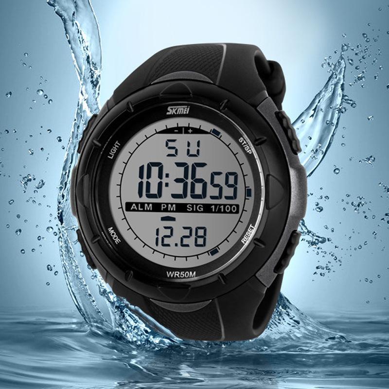 Skmei Brand Men LED Digital Watch Military Dive Swim Sports Watches Fashion Waterproof Outdoor Dress Wristwatches orologio uomo(China (Mainland))