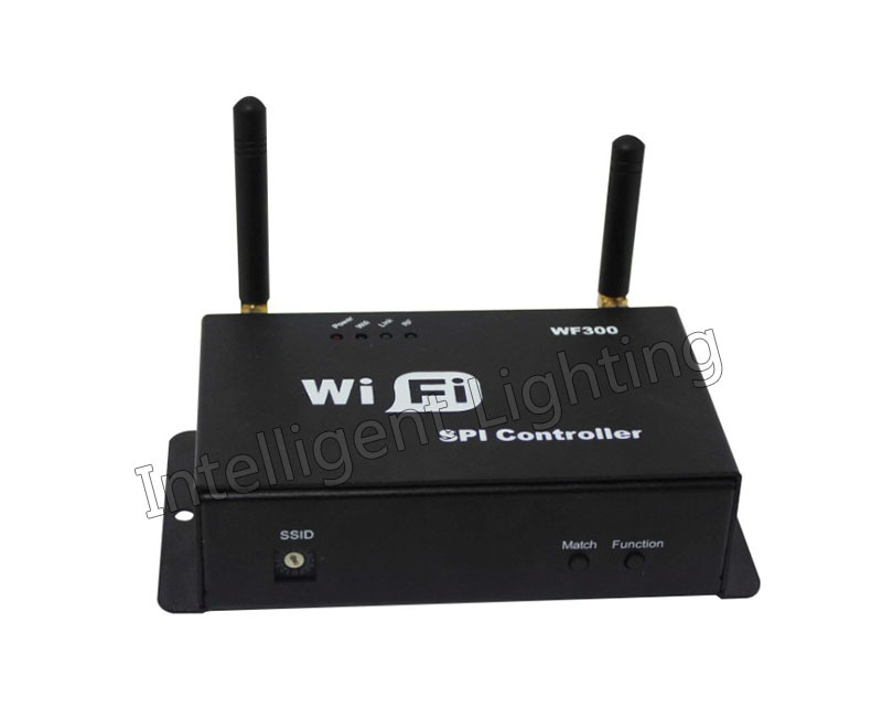 WF300 WiFi SPI Controller DC5-24V wireless control by mobile phone(China (Mainland))